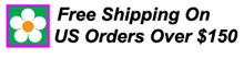 Free Shipping on US Orders over $150