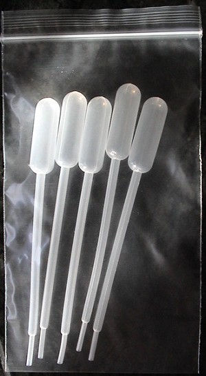 LDPE Pipette Droppers - set of 5